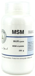 MSM Crystals - 8 oz.