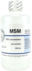 MSM Oral Solution - 8 oz.